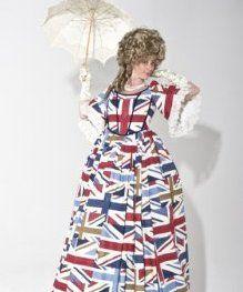Lady Britannia – Stilt Walker | UK