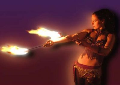 Miss Trixsta – Fire Performer & Stilt Walker   UK