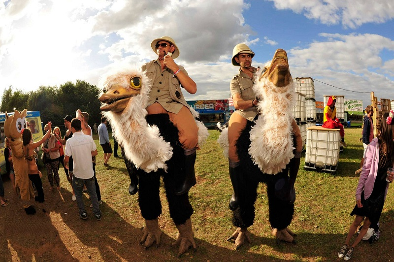 Booking agent for ostrich jockeys