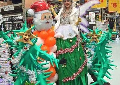 Pastiche – Christmas Tree Fairy | Stilt Walker | UK