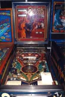 Booking agent for pinball machine
