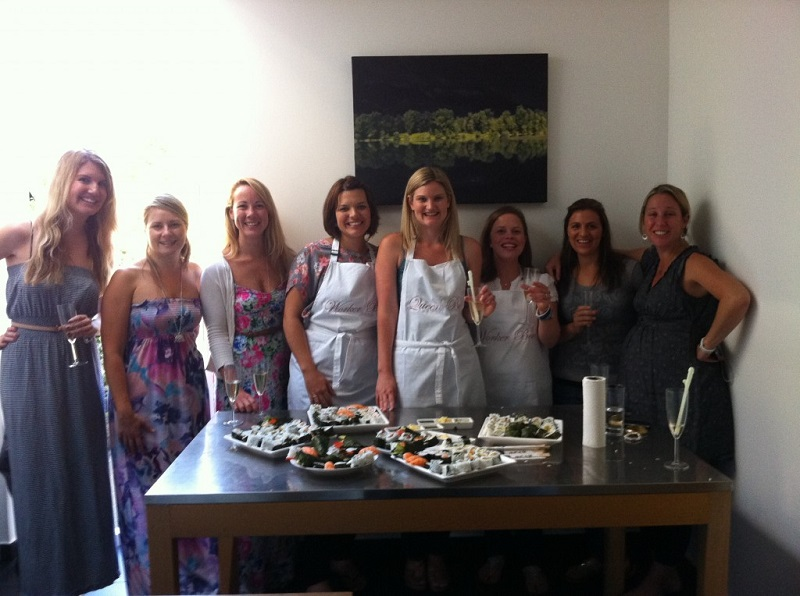 Booking agent for sushi workshop