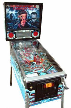 Booking agent for terminator 2 pinball machine