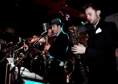 The Hoods – Swing Band   UK