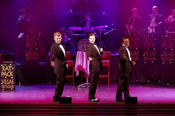 Booking for the rat pack trio