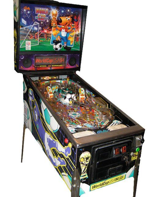 Booking agent for world cup 94 pinball machine
