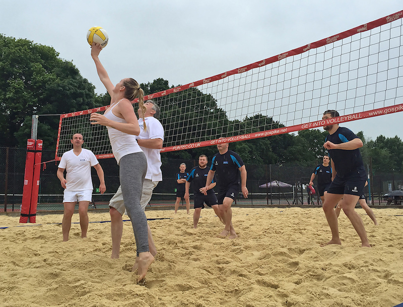 booking agent for olympic beach volleyball