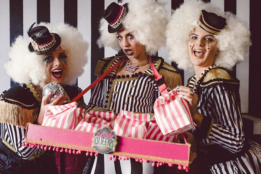 Booking Agent For Candy Queens Colour Changing Popcorn
