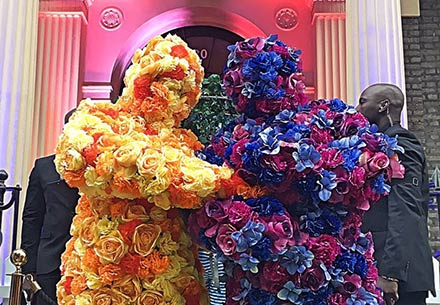 The Flower People – Human Statues | UK
