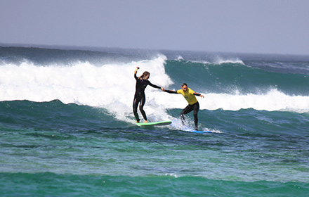 booking agent for surfing corporate adventure