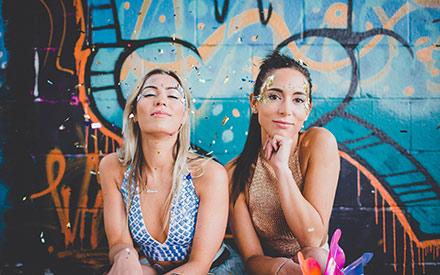 booking agent for glitter shack festival inspired makeovers
