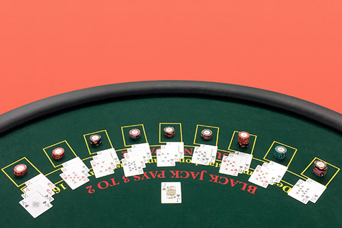 booking agent for black jack games casino tables