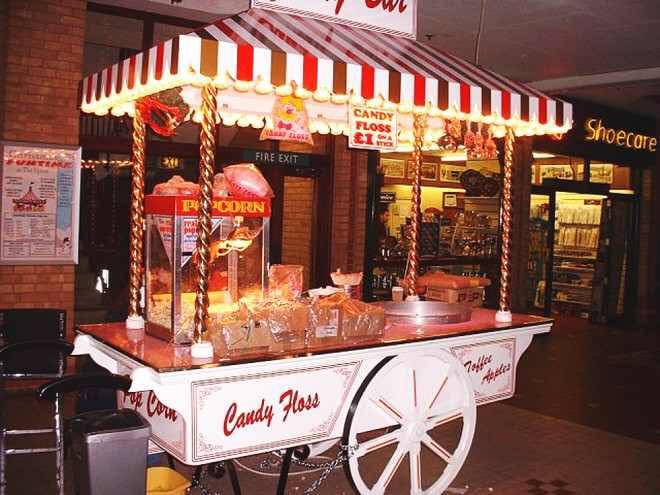Hire Leisure Food Stalls Popcorn Amp Candyfloss