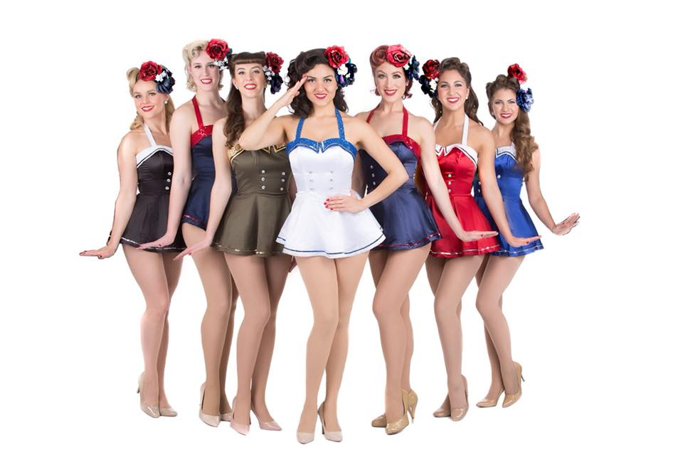 Hire / Book The Satin Dollz - 1940's Singers and Dancers