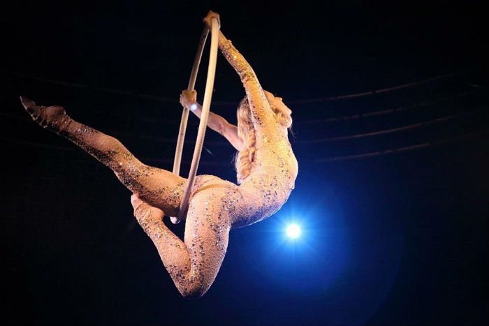 Booking Agent For Dream Aerial Silks Hoop Contraband Events