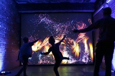 Corporate Entertainment Ideas: Hire interactive digital walls