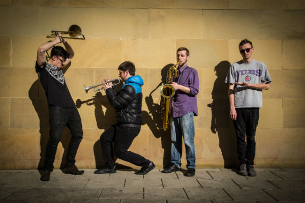 Hire / Book Loud Noises – Brass Band | Contraband Events