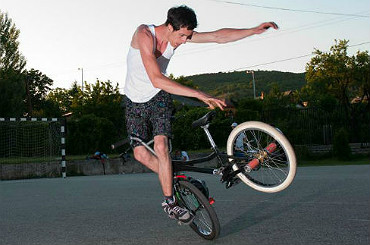 booking agent bmx bicycle freestyler
