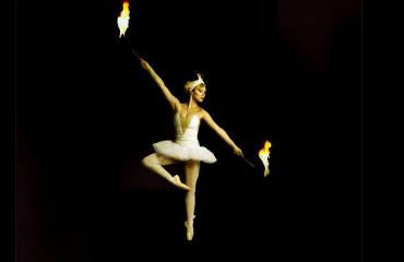 hire fire dancers divine