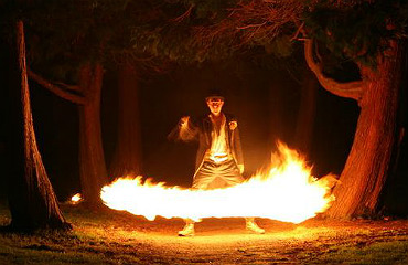 hire fire performer dave