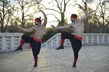 Hire / Book those 2 guys samurai performers