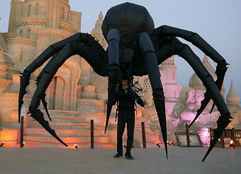 hire giant walkabout spider