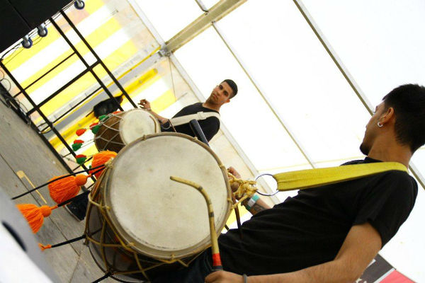 Hire / Book Dhol Players - Indian Musicians | Contraband Events