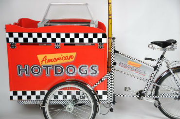 Hire / Book hot dog tricycle hot dog stalls