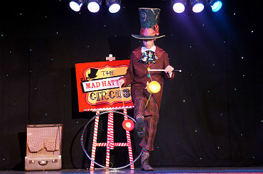 hire the mad hatters circus show
