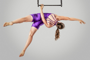 Hire / Book Aerial Rope, Silk & Trapeze - Rebekka