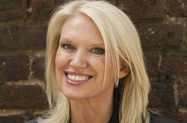 Booking agent Anneka Rice