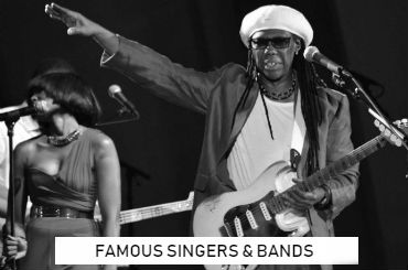 Event Management - Famous Singers and Bands Booking Agency