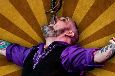 Hire / Book Sword Swallower - The Gentleman Freak