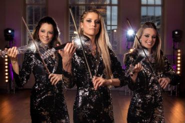 Hire Female Violin Trio - Vortex