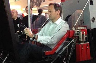 hire 301 Rally Driving Simulator