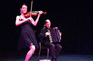 Hire / Book Accordion & Violin Duo - Mazaika | Contraband Events