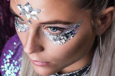 hire glitter shack festival inspired makeovers