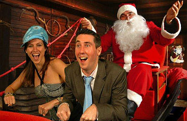 Entertainment Booking Agency for Corporate Entertainment: Book Fantasy Christmas Photos