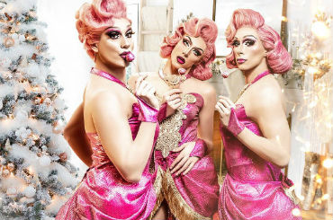 Entertainment Booking Agency for Corporate Entertainment: Book the globe girls pink xmas