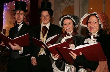 Entertainment Agency & Corporate Entertainment Agency: Book christmas carol singers