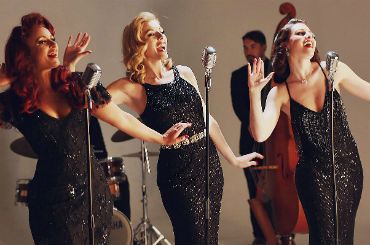 Hire Belle Noir - Retro Harmony Group