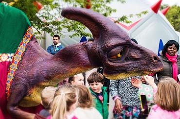 hire odysseia the parasaurolophus dinosaur