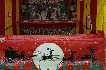 Russel Christmas fairground stalls